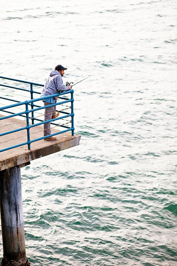 fisherman pier santa monica